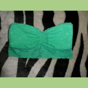 Aeropostale Teal Lace Sports Bra XS